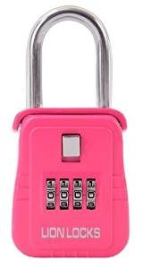 Pink Numeric lockbox 6 Pack 25% Off Sale