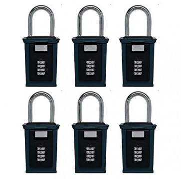 Secure-A-Key Shackle Mounted 6 Pack